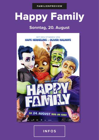 Familien Vorpremiere: HAPPY FAMILY
