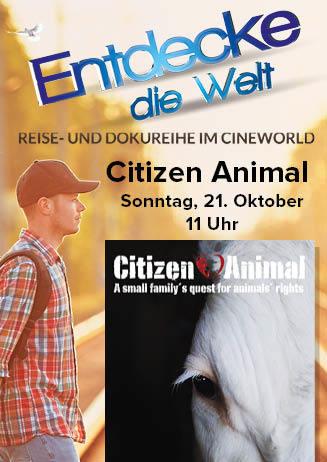"""181021 EdW """"Citizen Animal"""""""