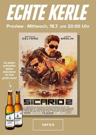 """Echte Kerle Preview """"Sicario 2"""""""