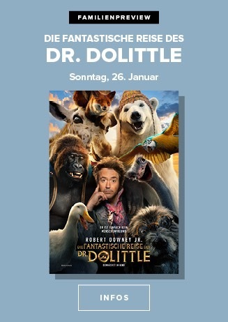 Familenpreview: Die fantastische Reise des Dr. Dolittle