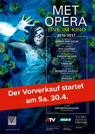 Metropolitan Opera Saison 2016/17