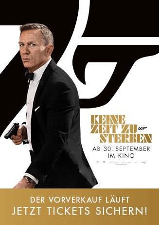 Vorverkauf: James Bond - Keine Zeit zu sterben
