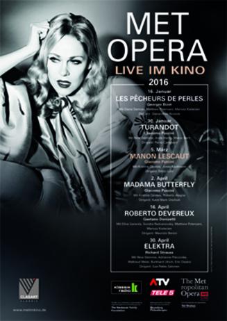 Puccinis MANON LESCAUT als siebte Oper der MET Saison 2015/2016