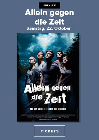 Preview mit Gästen: ALLEIN GEGEN DIE ZEIT