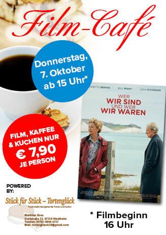 """211007 Film-Café """"Wer wir sind und wer wir waren"""""""