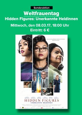 Weltfrauentag - Hidden Figures - Unerkannte Heldinnen