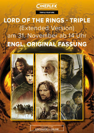Lord of the Rings Triple OV (Extended Version)