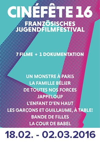 Cinéfête - Französisches Jugendfilmfestival für Schulen
