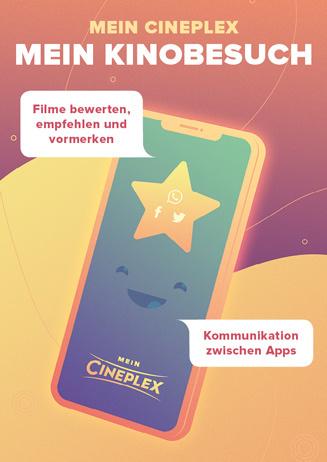 Mein CINEPLEX – Mein Kinobesuch