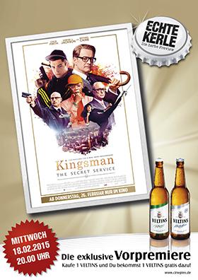 Echte-Kerle-Preview: KINGSMAN - THE SECRET SERVICE