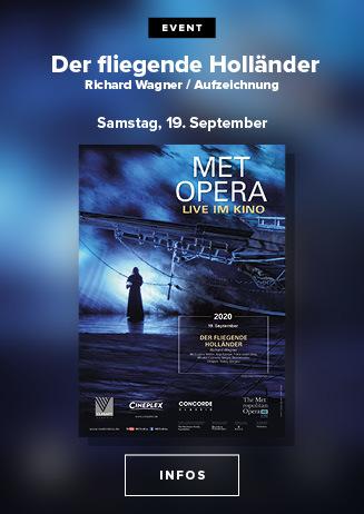 Klassik im Kino: Met Opera |Der Fliegende Holländer (Wagner)