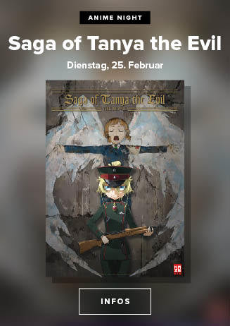 Anime im Dietrich Theater: Saga of Tanya the Evil: The Movie