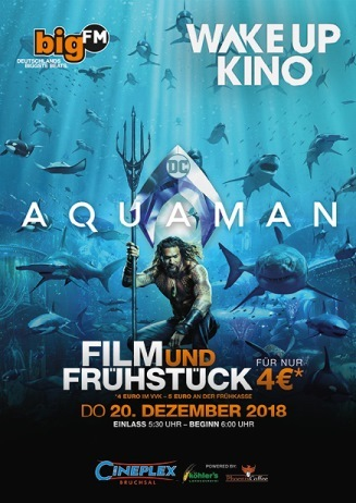 bigFM WakeUpKino: AQUAMAN