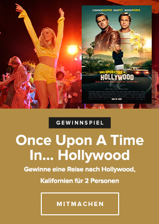 Gewinnspiel: ONCE UPON A TIME... in Hollywood