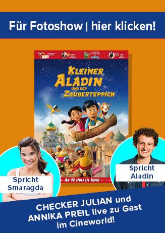 """190731 Nachbericht Starbesuch """"Kleiner Aladin und..."""""""
