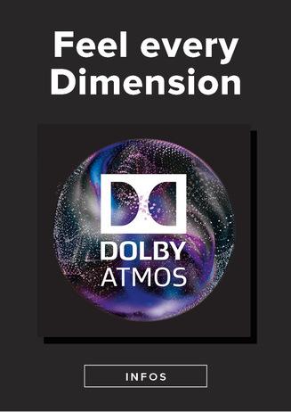 Dolby Atmos im CinemaxX Kino 10