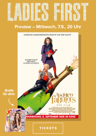 "Ladies First ""Absolutely Fabulous - Der Film"""