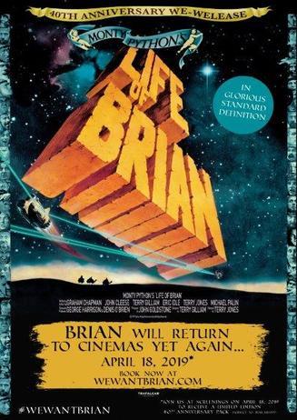 Monty Python - Das Leben des Brian - am 18.04.2019 -20.30 Uhr
