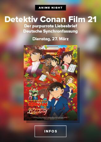 Anime Night: Detektiv Conan Film 21: Der purpurrote Liebesbrief