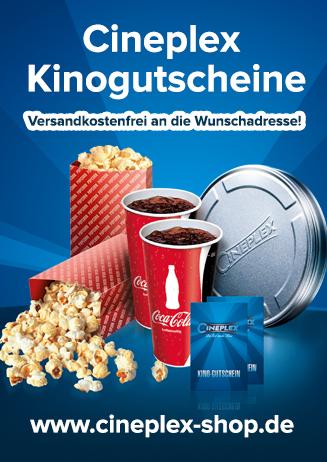 Cineplex Kinogutscheine kaufen