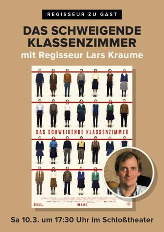 DAS SCHWEIGENDE KLASSENZIMMER mit Regisseur Lars Kraume