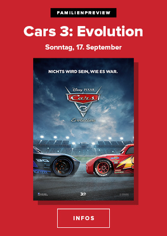 "Familienpreview ""Cars 3: Evolution"""