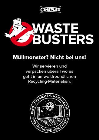 Müllmonster? Nicht bei uns! - Cineplex Nachhaltigkeit