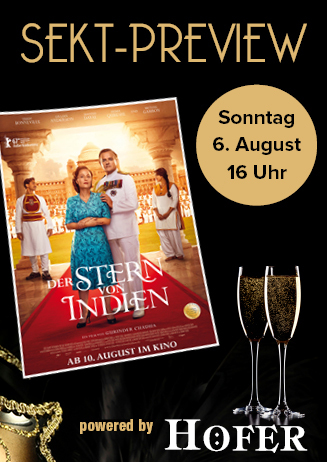"""170806 Sekt-Preview """"Der Stern von Indien"""""""