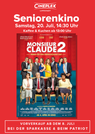 Seniorenkino: Monsieur Claude 2