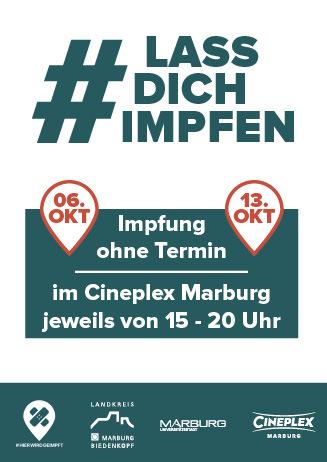 #LassDichImpfen im Cineplex