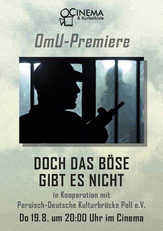 OmU-Premiere DOCH DAS BÖSE GIBT ES NICHT