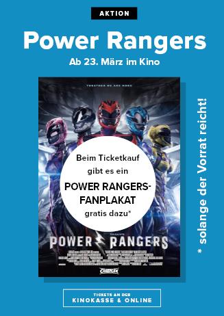 "Aktion zu ""Power Rangers"""