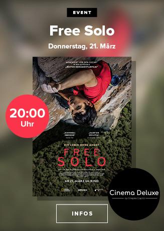 """""""Free Solo"""" - VVK läuft!"""