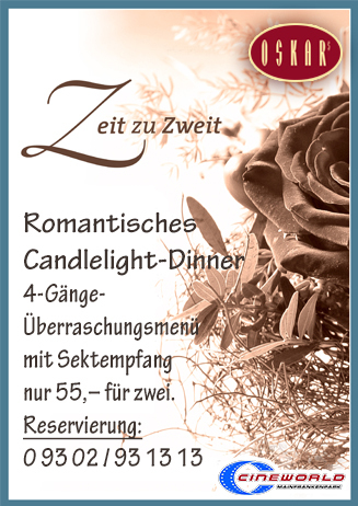 OSKARs Candlelight-Dinner