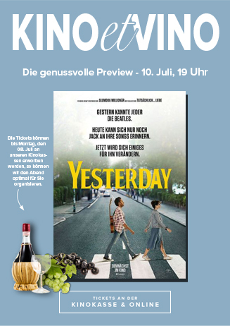 10.07. - Kino et Vino: Yesterday
