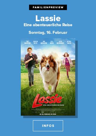 Familienpreview am 16.02.20 um 15 Uhr: Lassie