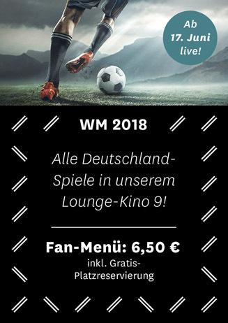WM 2018 in Lounge-Kino 9