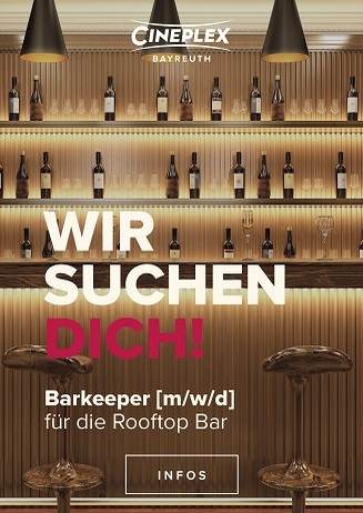 Barkeeper gesucht!