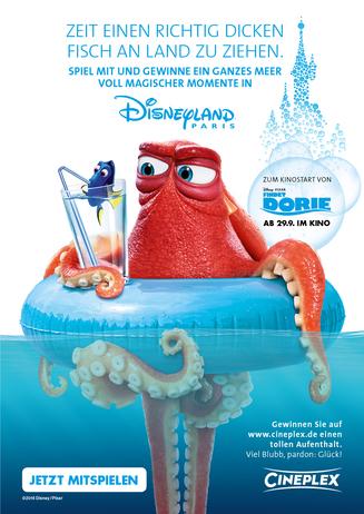 """""""Findet Dorie"""" schickt euch ins Disneyland!"""