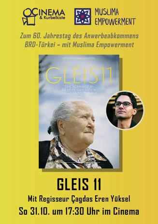 GLEIS 11 mit Regisseur
