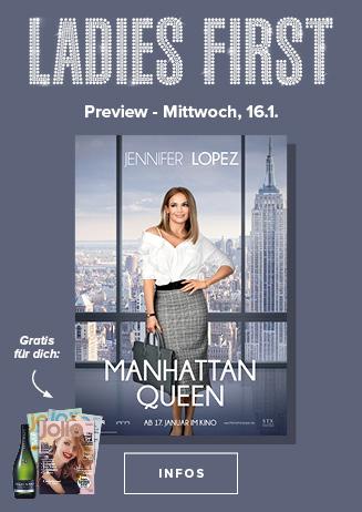 16.01. - Ladies First: Mahattan Queen