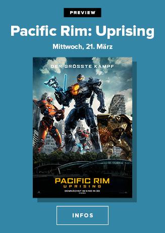 Preview: Pacific Rim - Uprising 3D