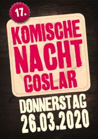 17. Komische Nacht in Goslar