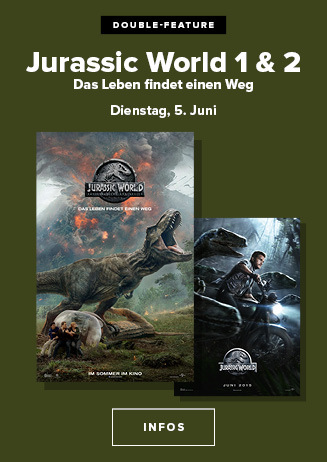 Double Feauture JURASSIC WORLD
