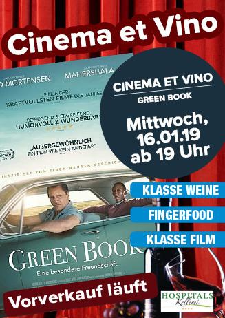 "Cinema & Vino: ""Green Book"""