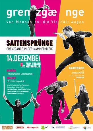 SAITENSPRÜNGE - Grenzgänge in der Kammermusik