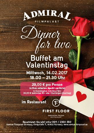 Valentinsdinner im FF