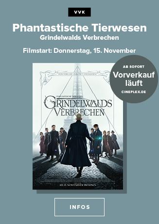 """""""Phantastische Tierwesen: Grindelwalds Verbrechen"""" - VVK läuft!"""