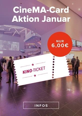 CineMA Card Aktion Januar