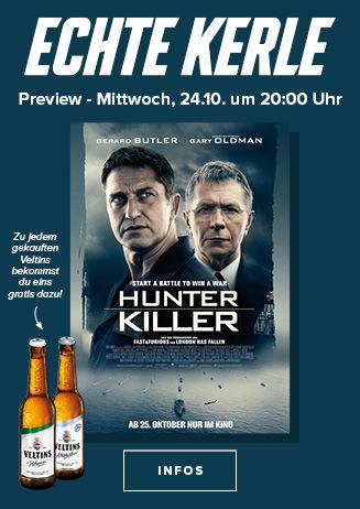"Echte Kerle Preview ""Hunter Killer"""